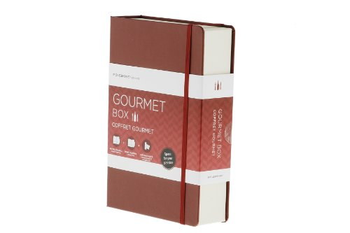 Moleskine GBGOURMET Geschenkboxen Passion-Gourmet-Box inkl. Wein-Journal, Rezept-Journal, Verkostungsnotizen schwarz