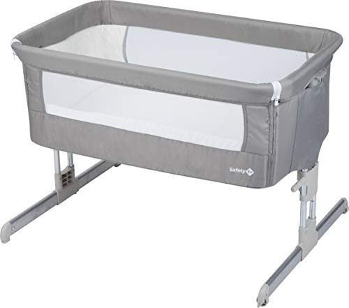 Safety 1er Lit gigogne Gris chaud