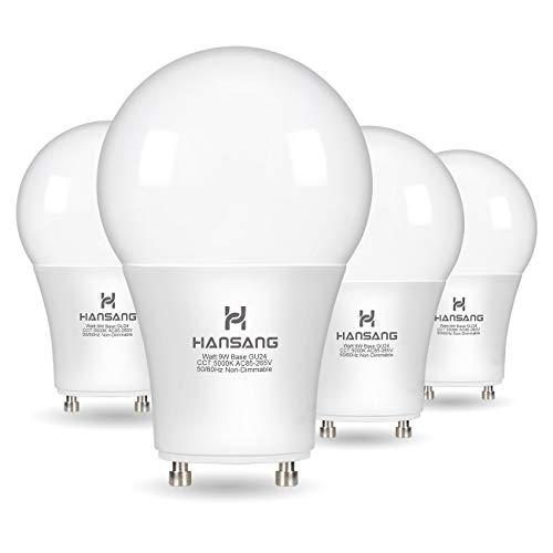 A19 LED Bulb Hansang Gu24 Light Bulb Base,9W (100W Equivalent),900...
