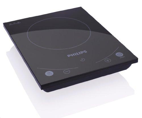 Philips Avance Collection HD4933/40 hobs Mesa Con - Placa (Mesa, Con placa de inducción, Vidrio, Negro, Tocar, Digital)