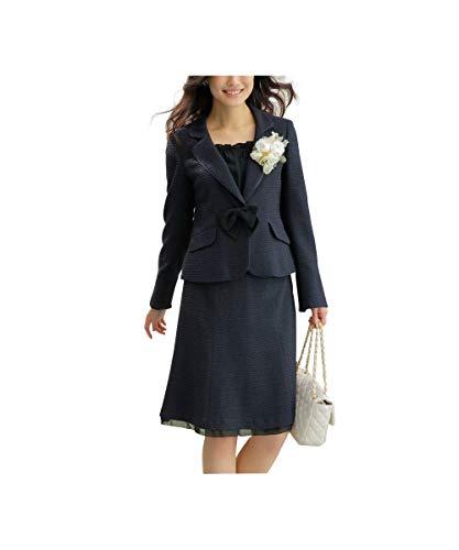 [nissen(ニッセン)] フォーマル セレモニー スカートスーツ セットアップ (ジャケット + スカート) ラ...