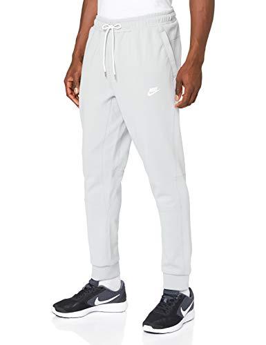 Nike Herren Hose Sportswear Modern Fleece, Light Smoke Grey/Ice Silver/White/White, L, CU4457-077