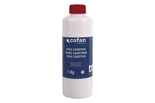 Cofan 15801011 Sosa cáustica, 1 kg