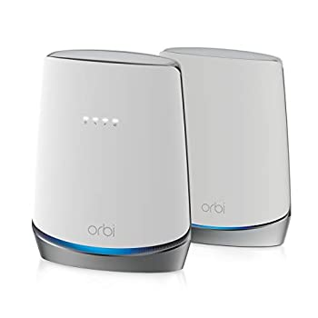NETGEAR Orbi Whole Home WiFi 6 System with DOCSIS 3.1 Built-in Cable Modem  CBK752  – Cable Modem Router + 1 Satellite Extender | Covers up to 5,000 sq ft 40+ Devices | AX4200  Up to 4.2Gbps