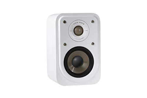 Polk Audio Signature S10E Surround - Altavoces HiFi para música y Cine en casa, 20-100 W, 8 ohmios, 72 Hz - 40 kHz (par)