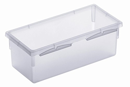 Rotho Basic Ordnungssystem, Kunststoff (PP), transparent, (15 x 8 x5 cm)