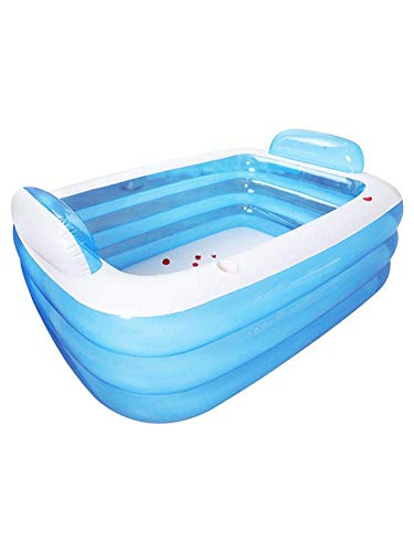 Inflatable Swimming Pool Thickened Inflatable Pool 3-Ring Inflatable Pool For Family Children Babies