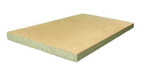 40x30x2 cm Schamottplatte Pizzaplatte Backofenplatte Schamottstein Schamott Schamotte Kamin Kaminofen