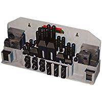 Kit universal de sujecion Holzmann 52TLG12 para fresadora 52 piezas 12mm