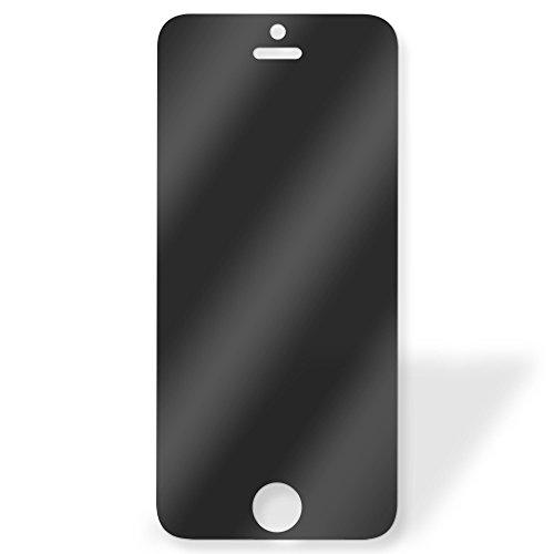iPhone5 スマートフォン 覗き見防止 ガラスフィルム 目隠し 液晶保護フィルム 9H 強化ガラス 強化 ガラス素材 液晶 スマホ wn-0821033-wy