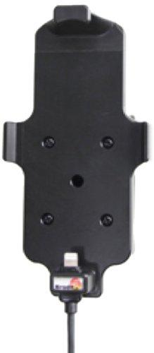 Brodit Molex Aktiv-Halter Adapter System mit Zertifiziertem Apple Ladekabel 527500 für Apple iPhone 5/5S/5C mit Skin