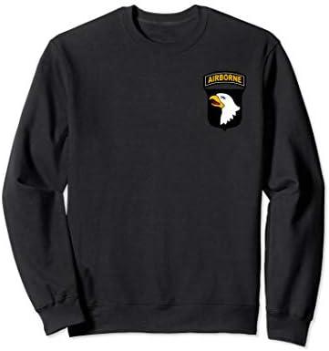 Army 101st Airborne Division PT Veteran Morale Sweatshirt product image