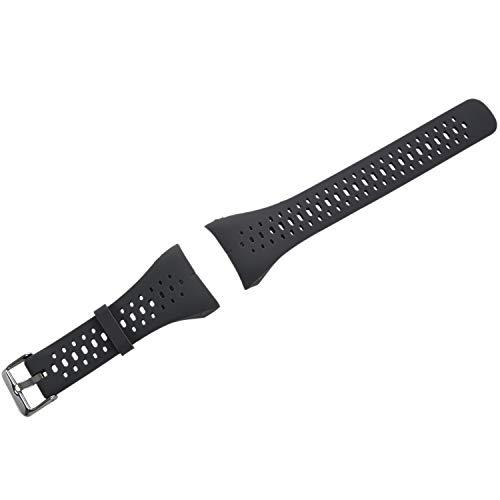 Fltaheroo Pulsera de Silicona para Correa de Mu?Eca para Polar M400 M430 GPS Sports Smartwatch Reemplazo de Correa de Reloj Correa de Banda con Herramienta Gris