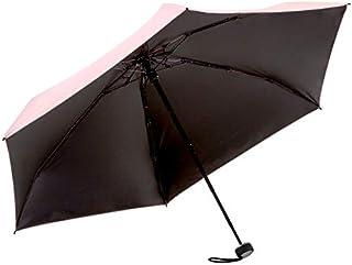 solshade 017 日傘 軽量コンパクト 小型 ミニ 折りたたみ傘 完全遮光 晴雨兼用 18cm 手のひらサイズ 折り畳み傘 耐風設計 遮光 100% 撥水 UVカット UPF 50+ ソルシェード 日傘 (ミニ 017)