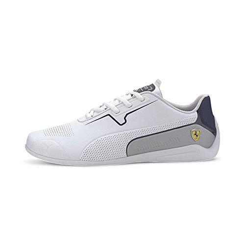 PUMA Ferrari Drift Cat 8 Sneaker Puma White-Peacoat UK 8_Adults_FR 42