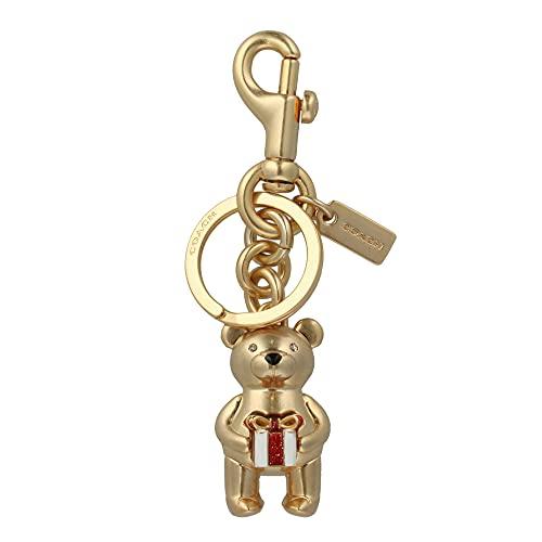 [コーチ] キーホルダー ベアー チャーム キーフォブ COACH Gifting Bear Charm Key Fob C1682 GOLD [並行輸入品]
