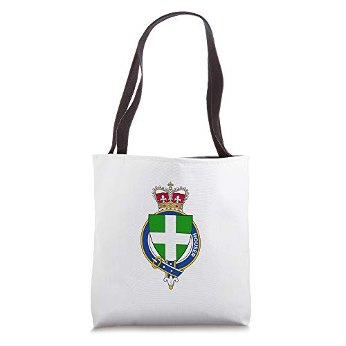 Houser Coat of Arms - Family Crest Tote Bag