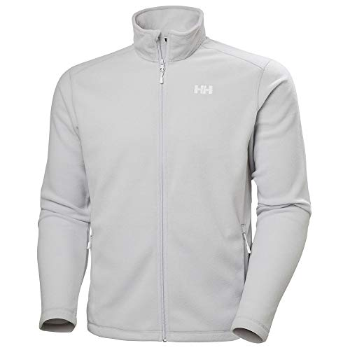 Helly Hansen Daybreaker Fleece Jacket Forro Polar Chaqueta, Hombre, Grey Fog, 2XL