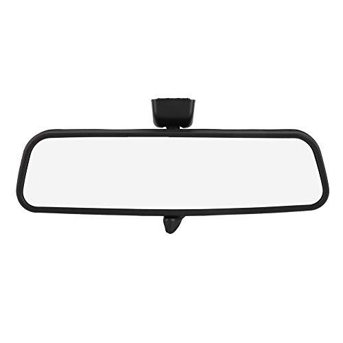Espejo retrovisor interior, 6428257 ABS Espejo retrovisor gran angular para automóvil Espejo interior apto para Opel Negro