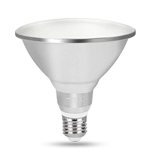 DASKOO Dimmbar Wasserdichtes E27 15W = 120W LED PAR38 Licht Aluminium Legierung + Glasabdeckung Warmweiß 30X5630 SMD 1200LM AC 220-240V Für Outdoor und Indoor Einsatz