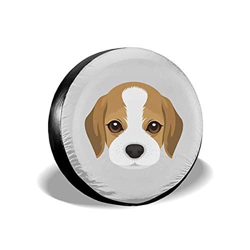 Hokdny Cubiertas de la Rueda de Respuesto 15inch,Impermeable Cubiertas de Neumáticos para Je-EP, Trailer, RV, SUV y Muchos Vehículos (Cubierta de Neumático 50)