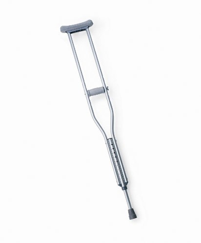 Medline Economy Aluminum Child Crutches,1 Pair