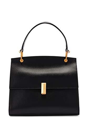 BOSS Damen Nathalie Top H. N-N Handtasche aus italienischem Leder mit charakteristischen Metalldetails