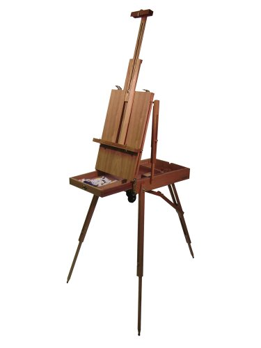 Martin Rolling Rivera French Wooden Sketch Box Easel, 1 Each (92-3037), Natural
