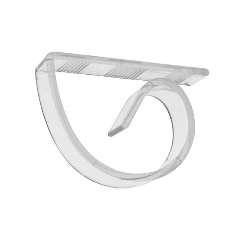 Party Essentials Hard Plastic Table Cover Clips, Clear (Case of 64)