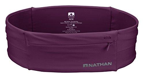 Nathan NS7702-0344-33 The Zipster Running Waist Packs, Amaranth, Medium