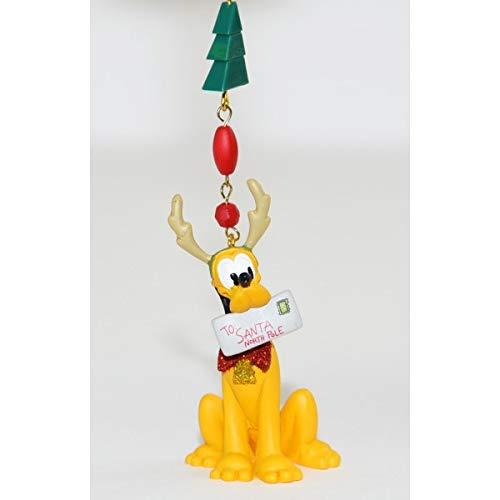 Disneyland Paris Pluto Christmas Ornament