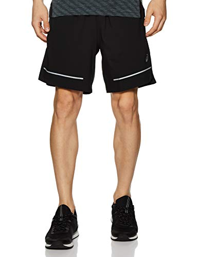 ASICS Lite Show 7 Inch Running Shorts Small Black