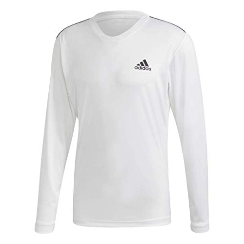 adidas Club tee para Hombre - FRO45, Camiseta Club, Medium, Blanco/Negro/Negro