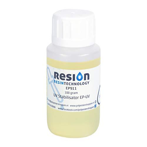 Epoxidharz UV-Stabilisator/Verhindert Verfärbung | 100gr | Geruchsarm, Top Qualität, Für alle Epoxidharze,