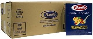 Barilla Fiyonk (Farfalle Tonde) Makarna 500G x 10 Paket