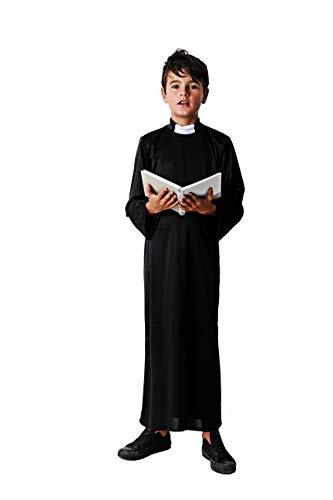 Costumizate! Disfraz de Cura Talla 10-12 Especial para niños Fiestas de Disfraces o Carnaval