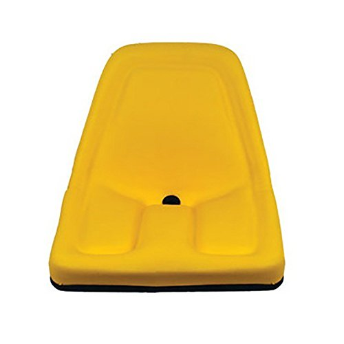 One (1) Yellow Michigan Seat For John Deere Gator Lawn Tractors