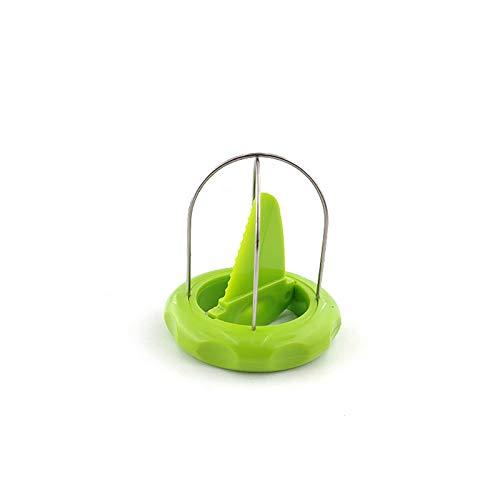 Edelstahl-Kiwi-Frucht Schneiden und Trennen Werkzeug Divider Mud Affe Peach Chip-Schneidevorrichtung Haushalt Obst Schäler Obst Kern Graben Gerät Küche Artifact,Grün