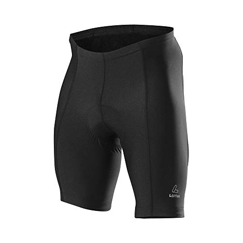 LÖFFLER Basic korte fietsbroek heren Black 2020