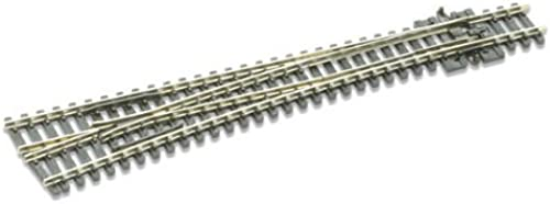 Peco N Scale Code 80 Electrofrog  8 Left-Hand Turnout by PECO