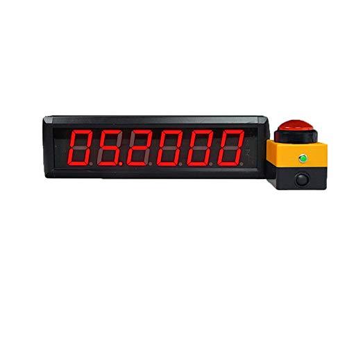 WyaengHai Countdown-Uhr Große programmierbare Countdown-Stoppuhr Digital Interval Timer Multifunktions-Home Gym Timer ist ideal for Klassenzimmer Krankenhaus Büro Geeignet für Fitness-Studio Fitness