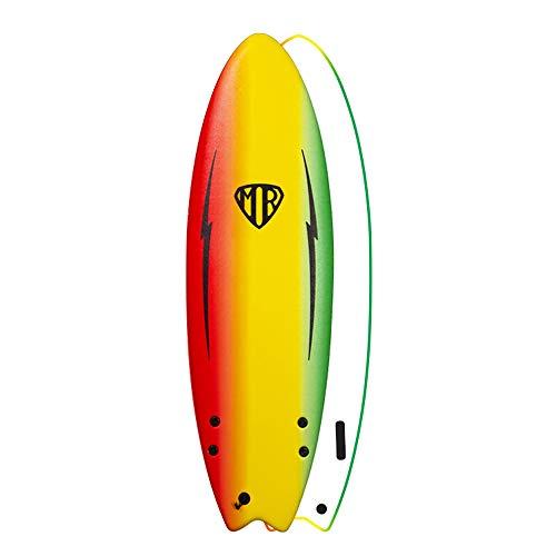 Ocean & Earth Mr Spray Ezi Rider Twin Fin - Tabla de surf (5'6')