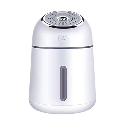 WZB Mini-Luftbefeuchter - USB-LED-Licht für Schlafzimmer Baby Ultraschall Premium Mini-Luftbefeuchter Flüsterleiser Betrieb Wasserlose automatische Abschaltung, Weiß