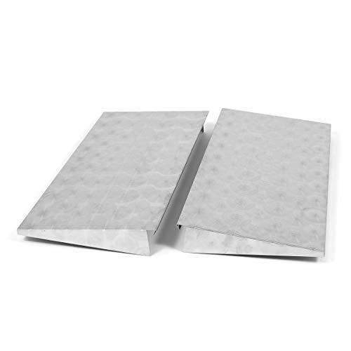 Edelstahl Abstellplatten-Set (2 Stück) für 2/3-flammige Grills/Bräter