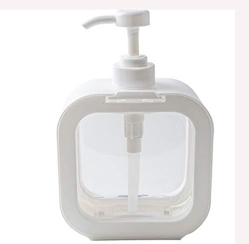 OMYLFQ Dispensadores de loción Dispensación de Gran Capacidad Jabonera embotellada jabón jabón Ducha Gel champú Lavado Polvo reemplazo Botella vacía jabón