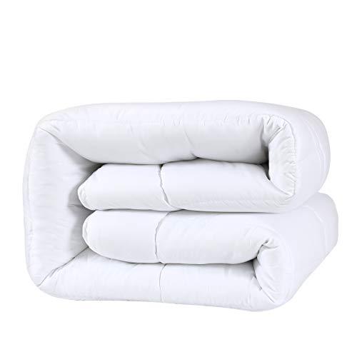 D & G THE DUCK AND GOOSE CO 4-Jahreszeiten Bettdecke Kombidecke aus eine Sommerdecke & EIN Steppbett Für Übergangszeiten, Microfiber, 135X200CM