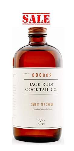 Jack Rudy - Sweet Tea Sirup (der ultimative Mixer für Bourbon Whisky und Rum; ergibt 25-30 Cocktails))