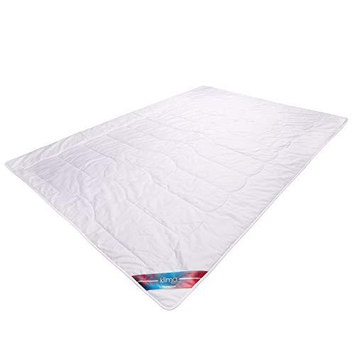 Traumschloss Klima Control Naturfaser Sommerbett Bettdecke - in verschiedenen Größen, Größe:135x200