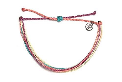 Pura Vida Life in Color Bracelet - Handcrafted - 100% Wax Coated Waterproof Adjustable Bracelet