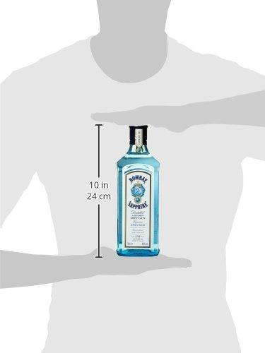 Bacardi Bombay Sapphire London Dry Gin 40% Vol. (1 x 0,7 l) - 7